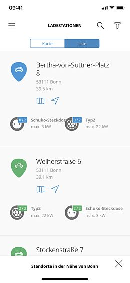 Smartphone locations